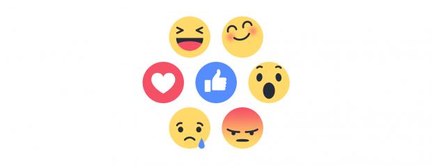 Online-Erwähnungen und Äußerungen werden jetzt dank der Facebook Reactions Analyse noch effektiver analysiert