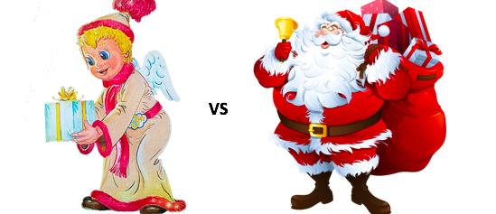 Ježíšek nebo Santa Claus?