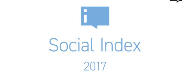 Social Index 2017 pro Českou republiku