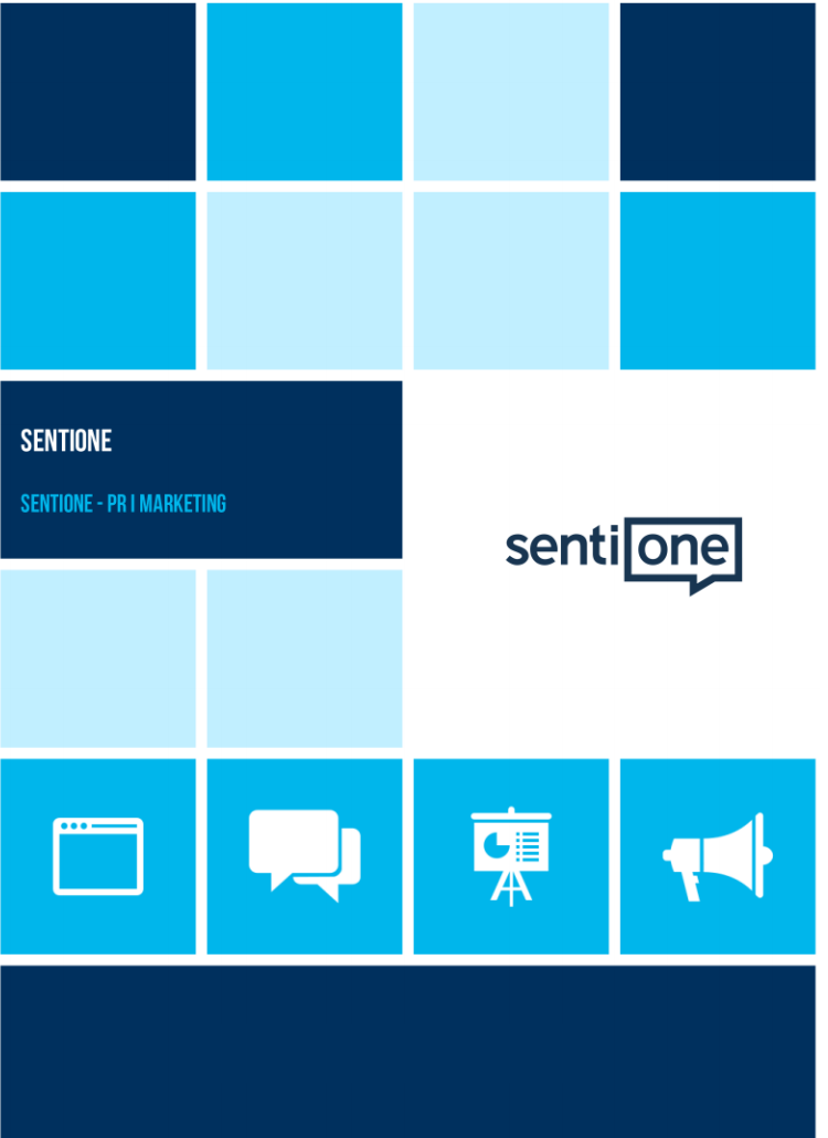 SentiOne report cover