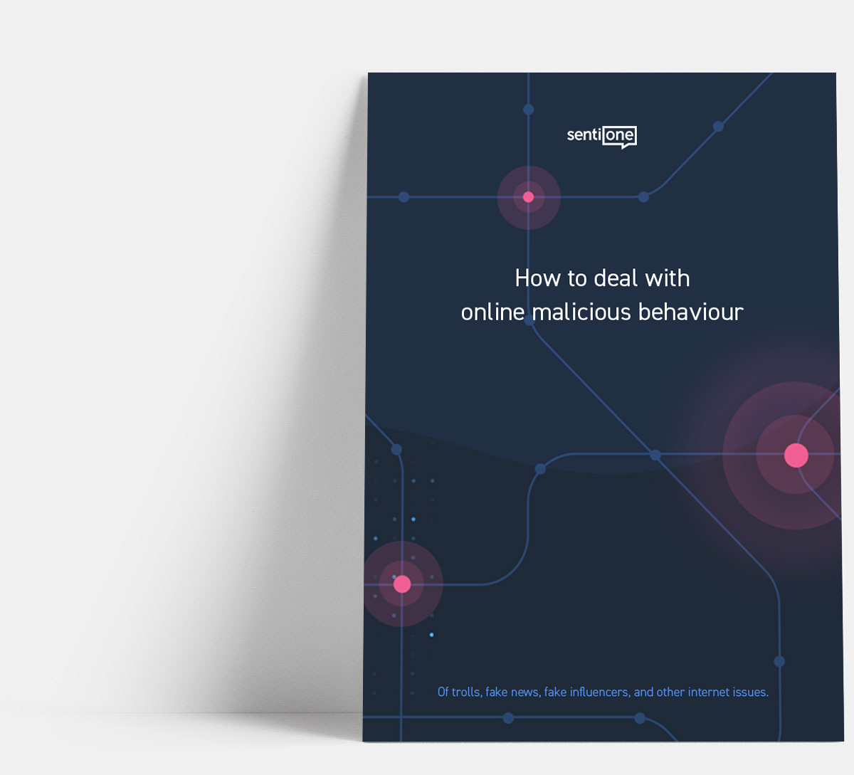How to deal with online malicious behaviour: Of trolls, fake news, fake influencers, and other internet issues whitepaper cover