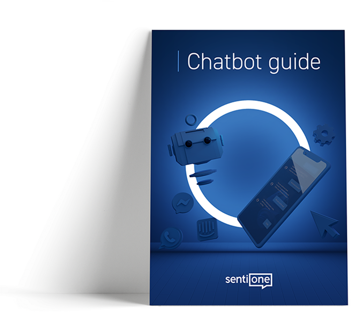 Chatbots and Conversational AI for BUsiness Use Guide cover