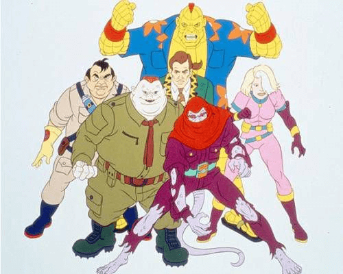 """Pictured: a group of villains from the show """"Captain Planet"""""""