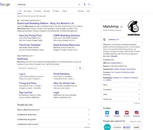 Pierwsza strona wyników wyszukiwania Google to przysłowiowe pierwsze wrażenie, na które masz tylko jedną szansę.